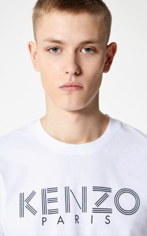 WHITE KENZO t-shirt for men
