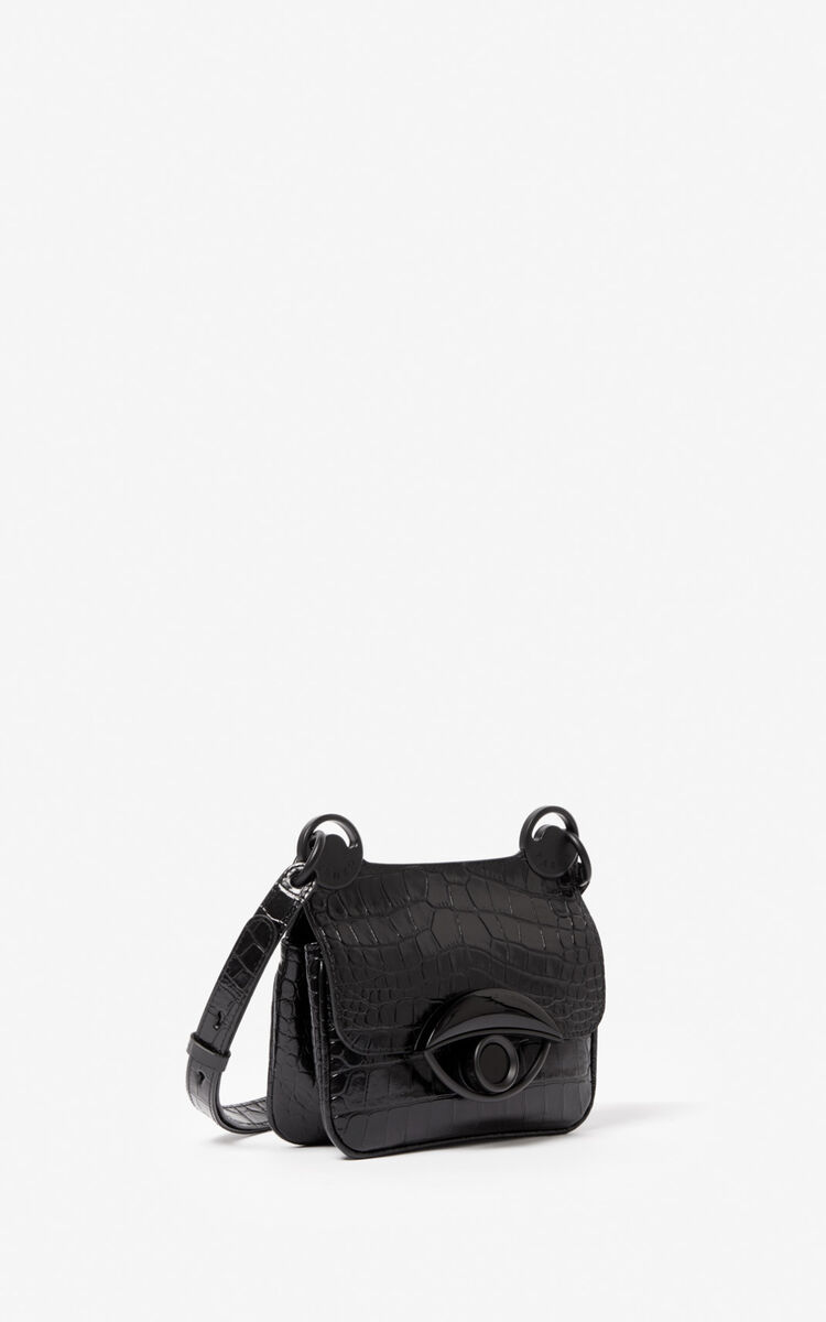 BLACK Mini TALI crossbody bag for men KENZO