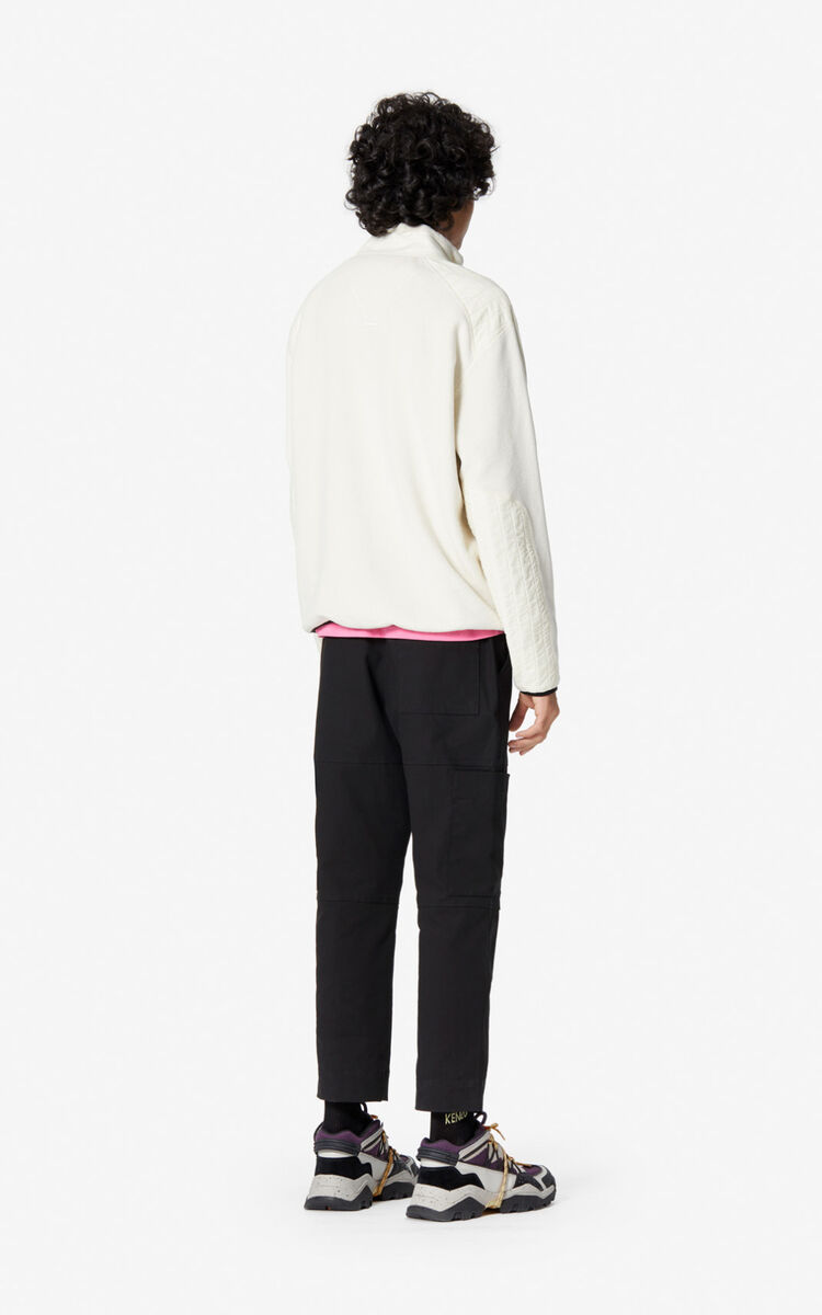 ECRU 'Polar' zipped sweatshirt for men KENZO