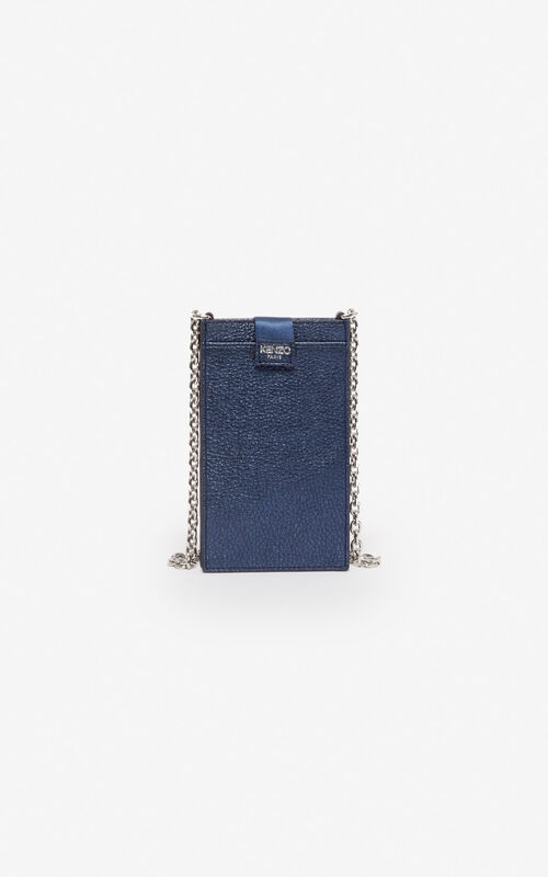 NAVY BLUE Kontact Eye telephone case for unisex KENZO