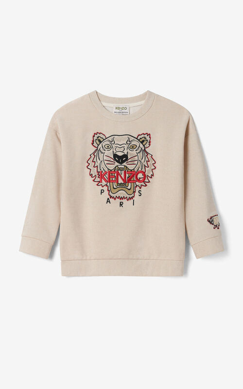 GOLD Tiger sweatshirt for women KENZO
