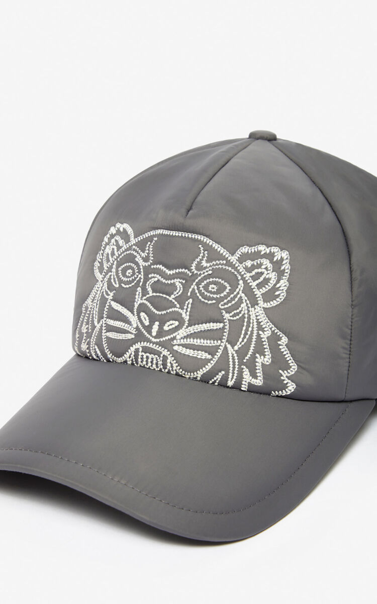ANTHRACITE 'Capsule Expedition' Tiger cap for unisex KENZO