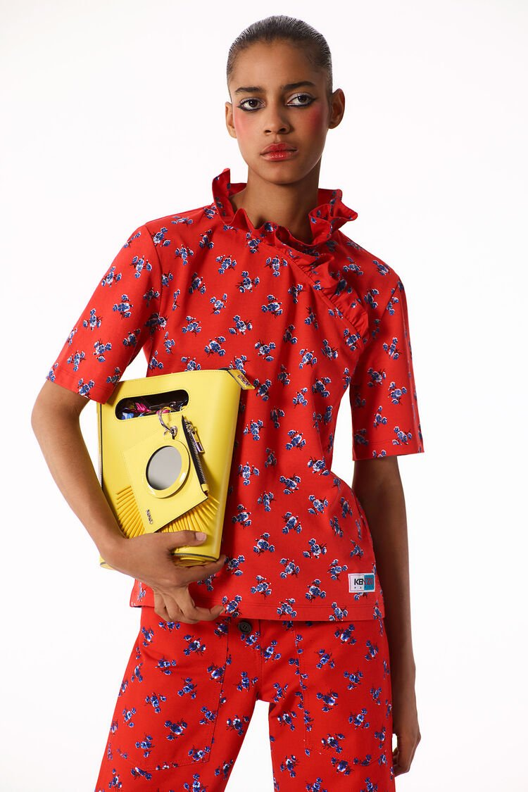 LEMON Mini Stiff Tote Bag for unisex KENZO