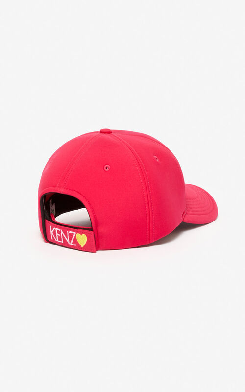 DEEP FUSCHIA Tiger cap 'Capsule Back from Holidays' for unisex KENZO