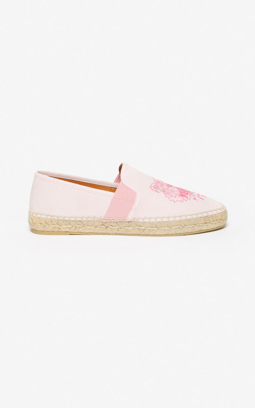 FADED PINK Tiger espadrilles for women KENZO