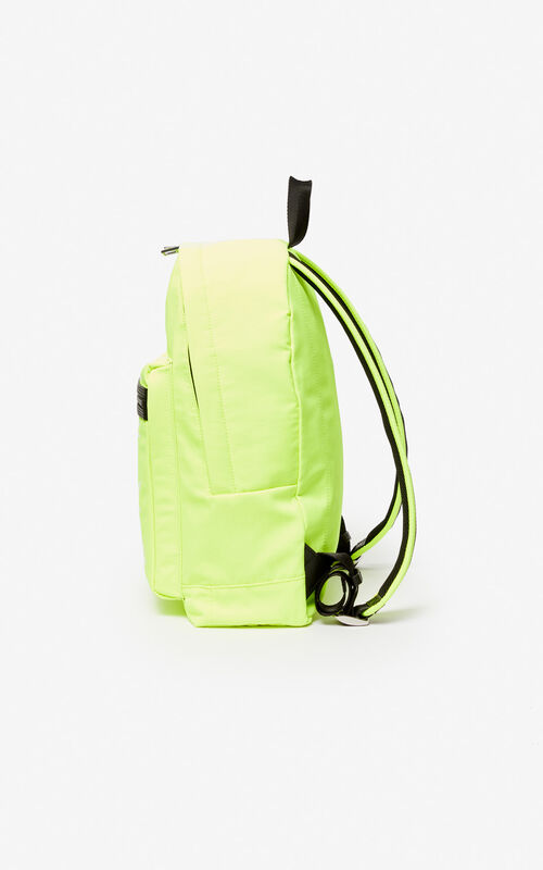 LEMON Large KENZO Logo backpack for unisex
