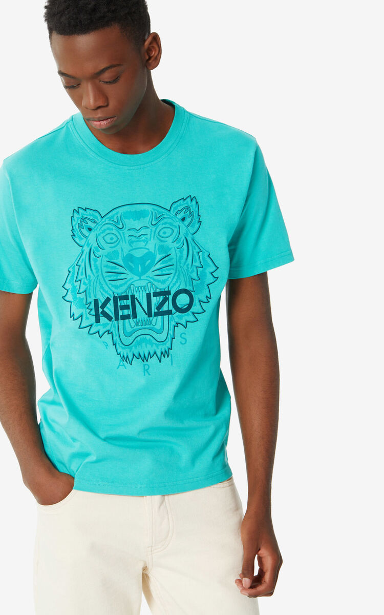 MINT Tiger 'High Summer Capsule Collection' T-shirt for men KENZO