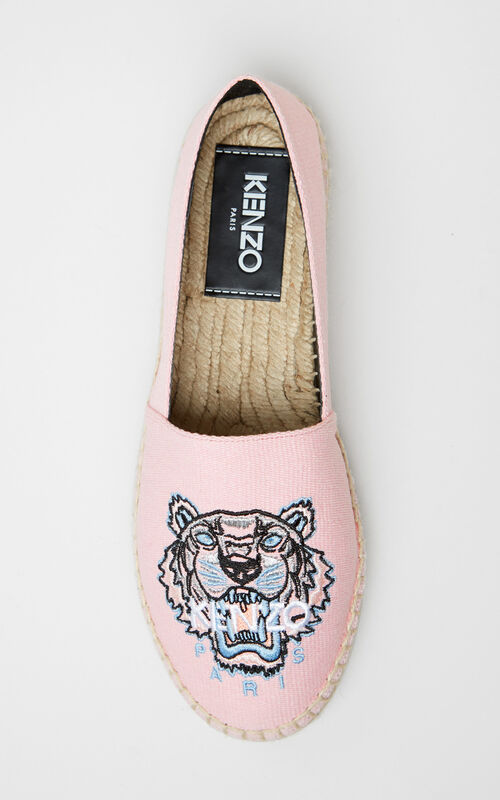 17ad43ba29e ... FADED PINK Tiger Espadrilles for unisex KENZO