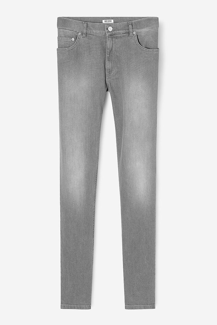 MIDDLE GREY Skinny Jeans for men KENZO