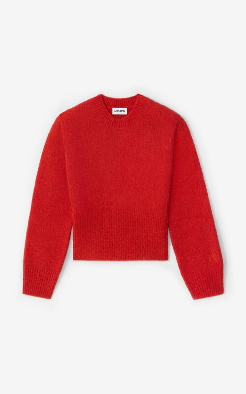 VERMILLION Recycled cashmere jumper for unisex KENZO