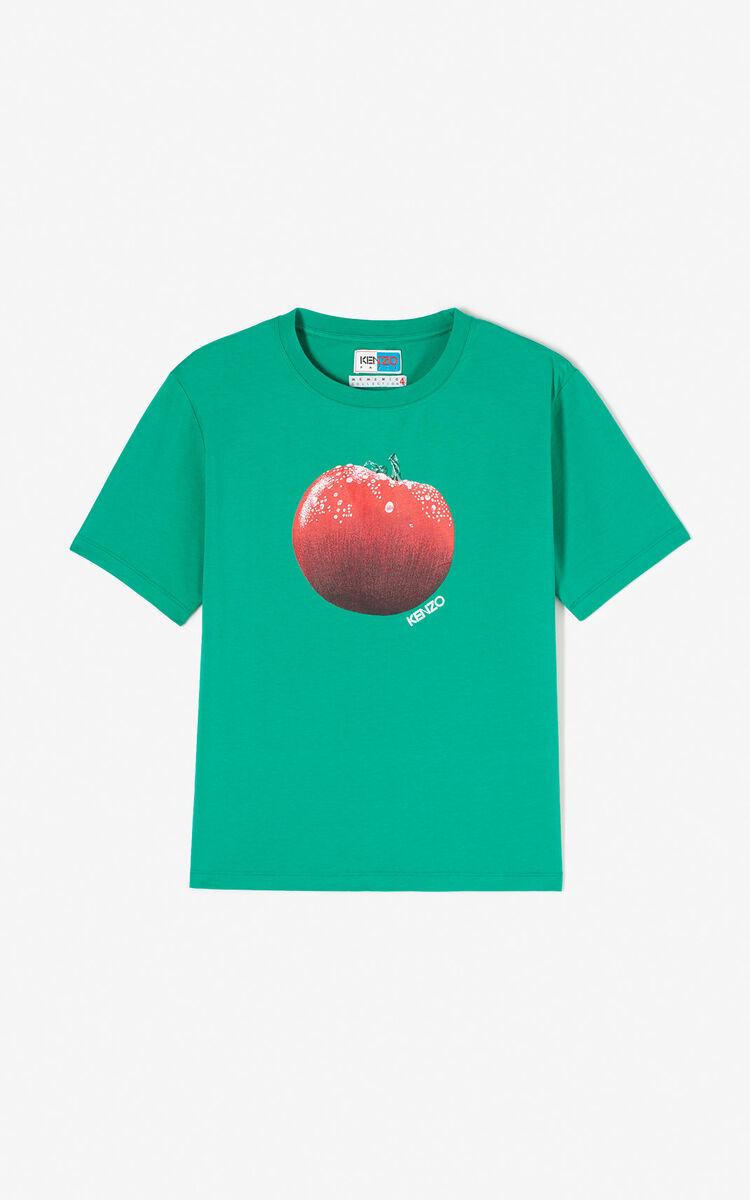 GREEN 'Tomato' T-shirt for global.none KENZO