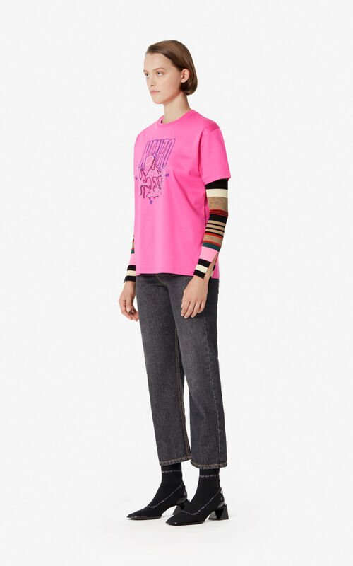 BEGONIA 'Kenzo Mountain' T-shirt for women
