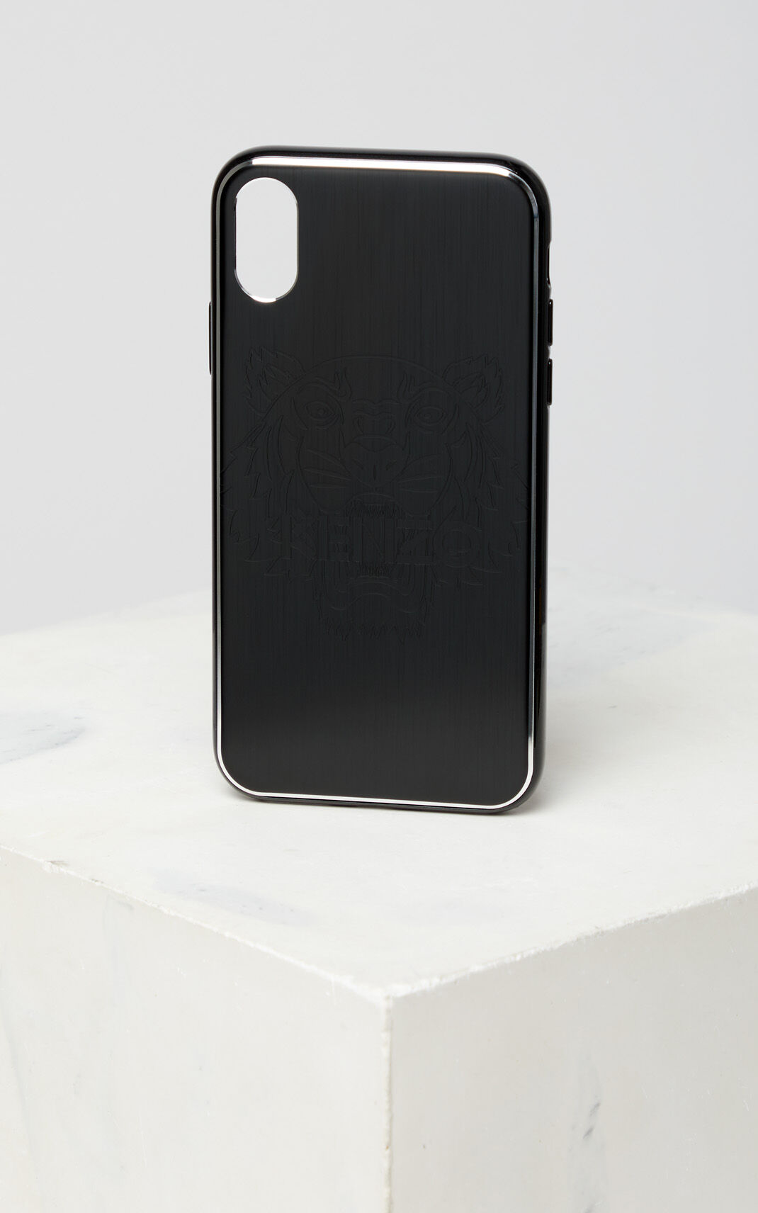 BLACK Tiger iPhone X case for unisex KENZO
