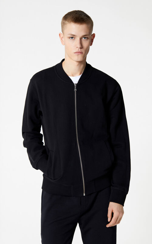 BLACK Tiger Bomber jacket for men KENZO