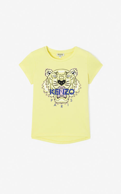 LEMON Tiger t-shirt for unisex KENZO