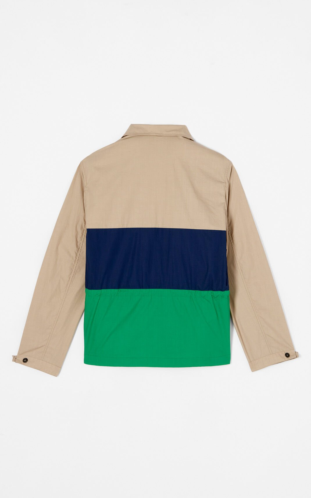 PALE CAMEL 'Hyper KENZO' colourblock jacket for men