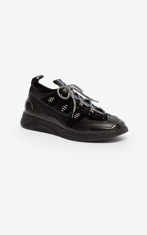 BLACK Klimb sneakers for unisex KENZO