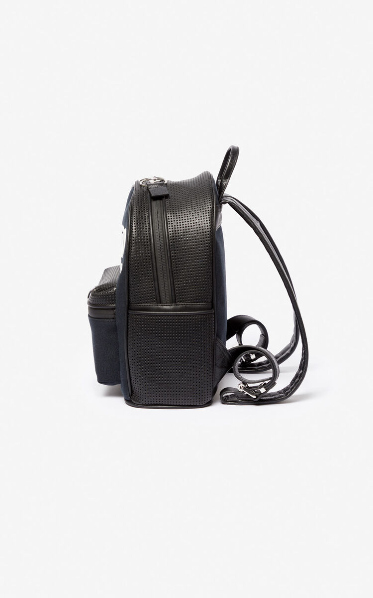 BLACK KENZO Kombo backpack for unisex