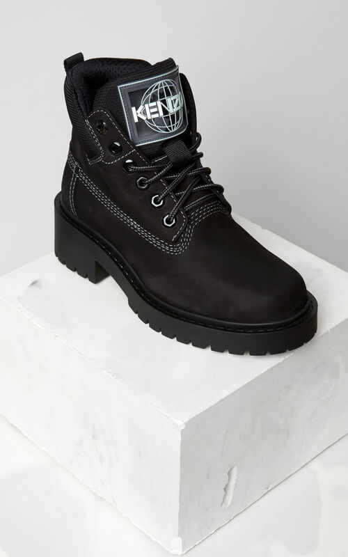BLACK Sierra Boots for women KENZO