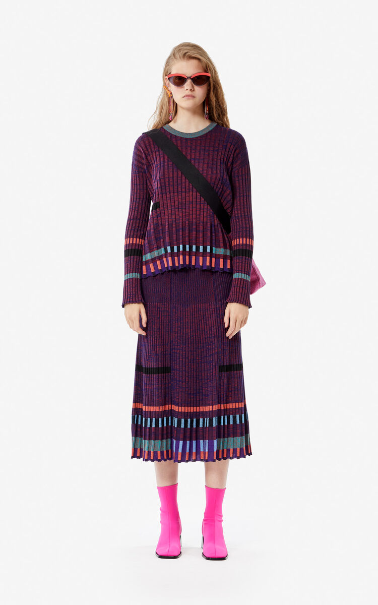 BORDEAUX Pleated jumper for women KENZO