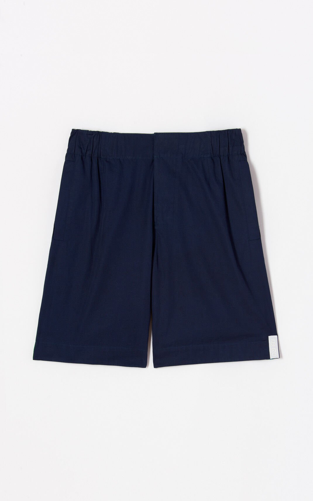 NAVY BLUE 'High Summer Capsule Collection' shorts for women KENZO