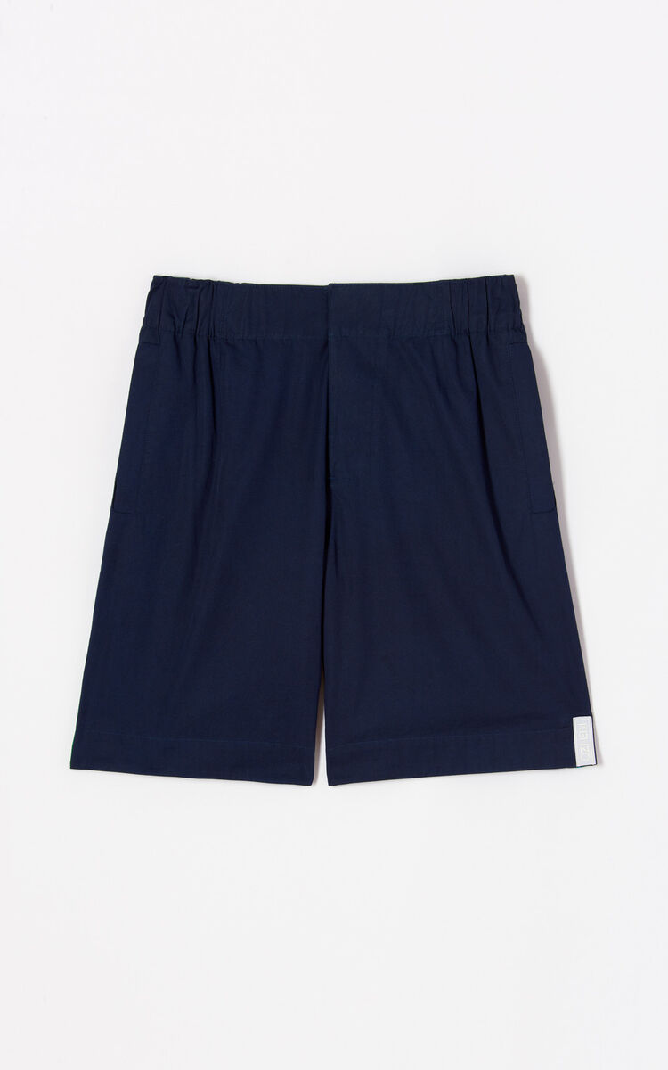 NAVY BLUE 'High Summer Capsule Collection' shorts for men KENZO