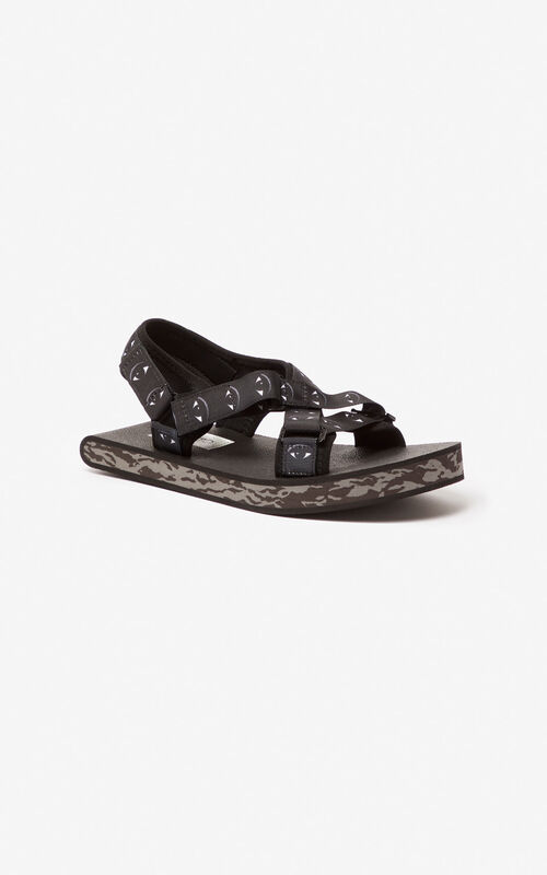 BLACK Lynn sandals for unisex KENZO