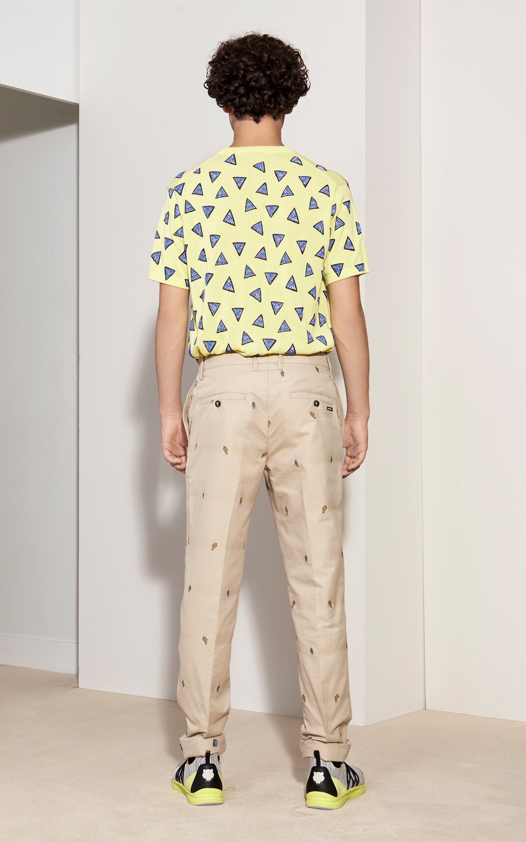 LEMON 'Bermudas Rubberised' T-shirt for men KENZO