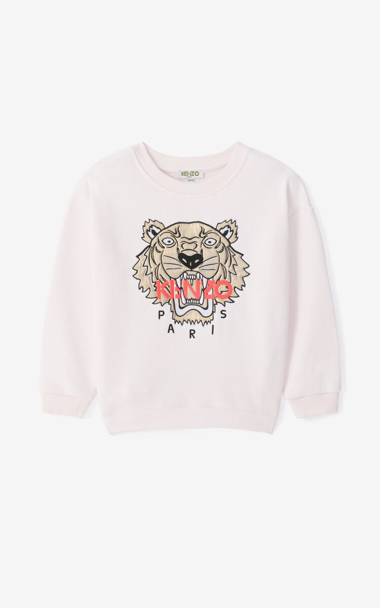 FADED PINK Tiger dress and sweatshirt ensemble for men KENZO