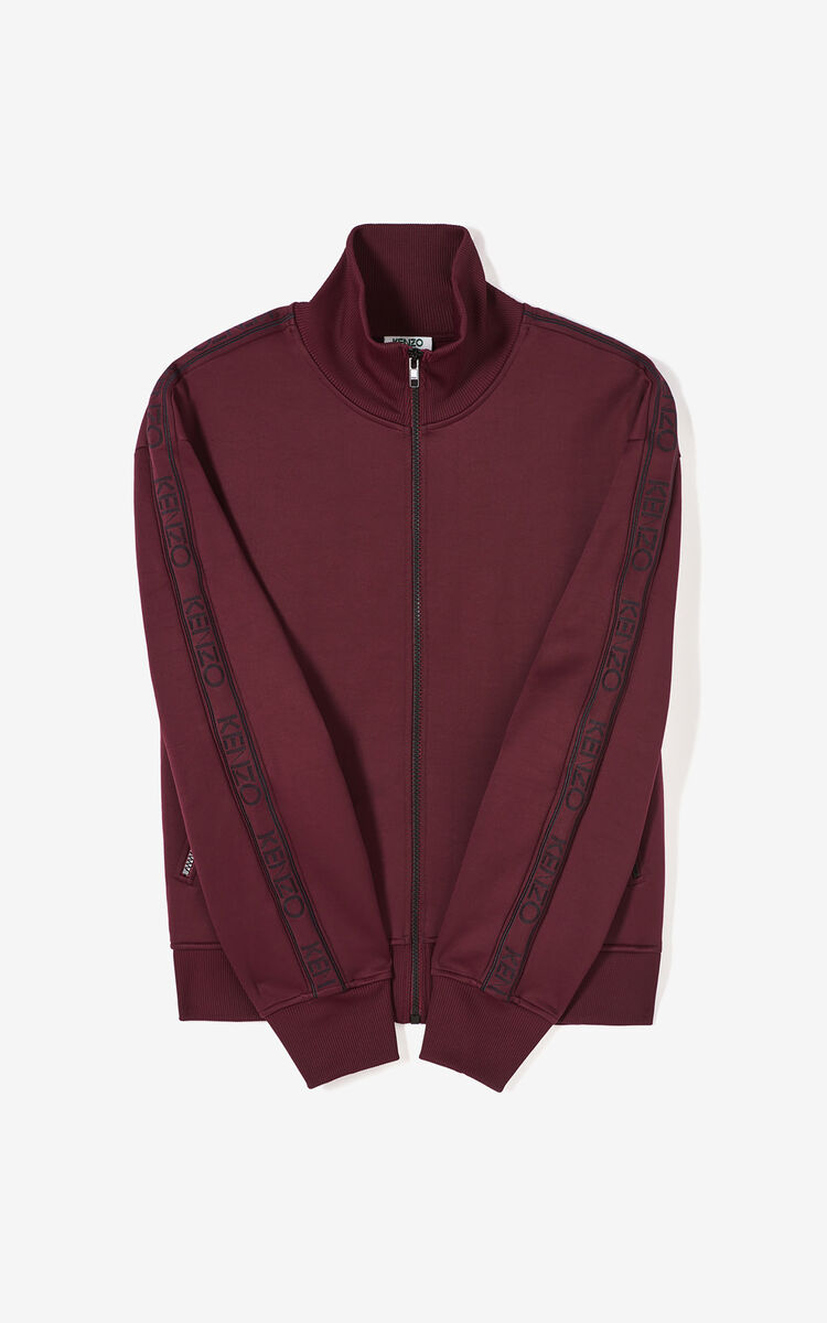 BORDEAUX KENZO Logo jacket for women