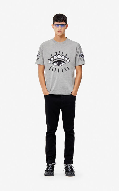DOVE GREY Eye t-shirt for men KENZO