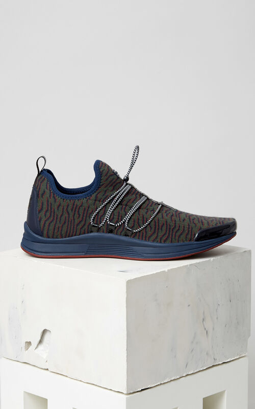 BLUE Ozon x Geo Tiger Sneaker for men KENZO