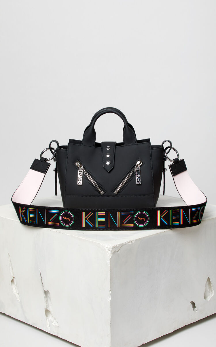 BLACK 'High Summer Capsule Collection' Mini Kalifornia strap for women KENZO