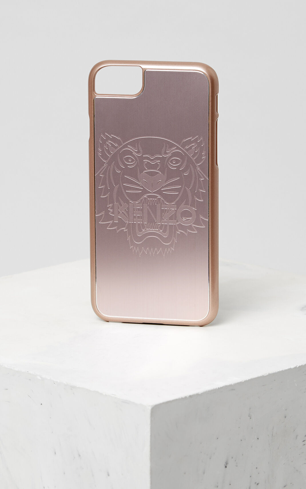 PASTEL PINK Tiger iPhone 7+/8+ case for unisex KENZO