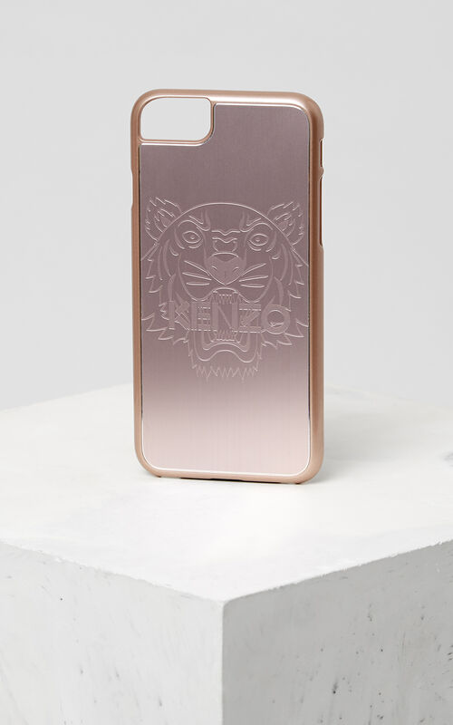 PASTEL PINK Tiger iPhone 7+ case for unisex KENZO