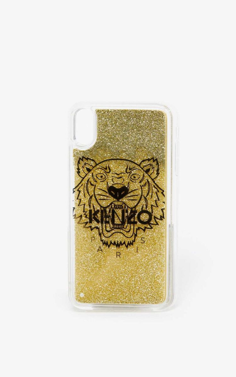 GOLD iPhone XS Max Case for women KENZO