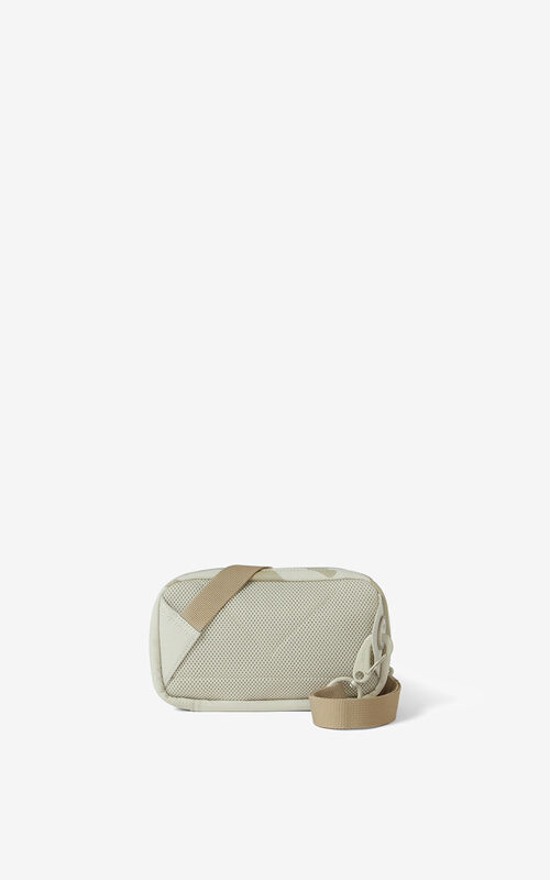 TAN K-Tiger crossbody bag for unisex KENZO