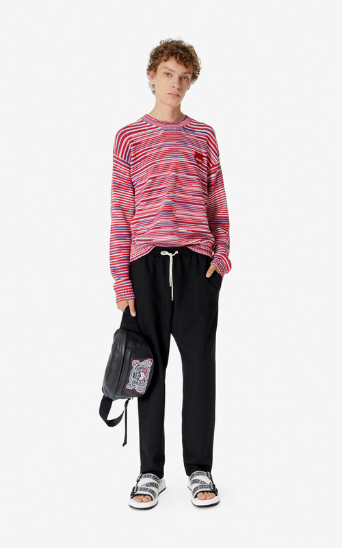 MEDIUM RED Tiger jumper  for men KENZO
