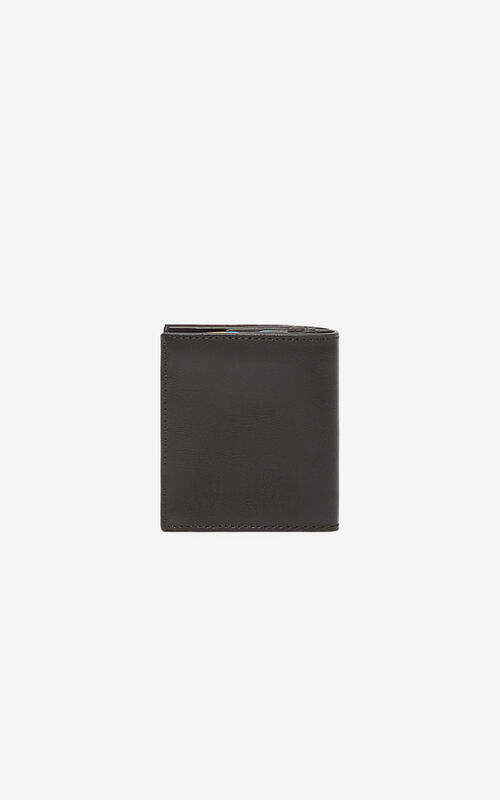 BLACK 'Tiny Tiger' wallet for unisex KENZO