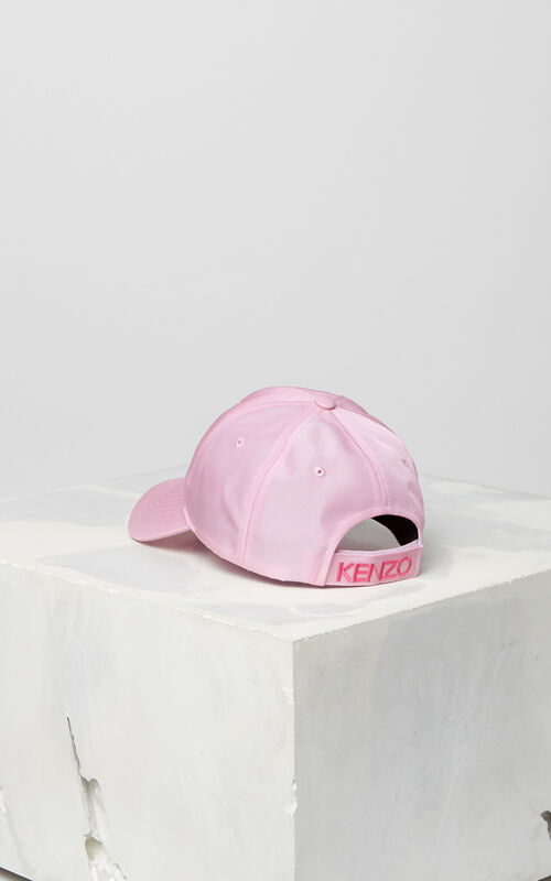 FLAMINGO PINK Tiger Canvas Cap for unisex KENZO
