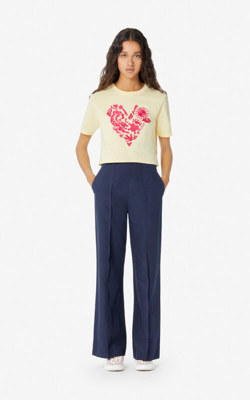 VANILLA 'Valentine's Day Capsule' 'Lucky Star' short T-shirt for women KENZO