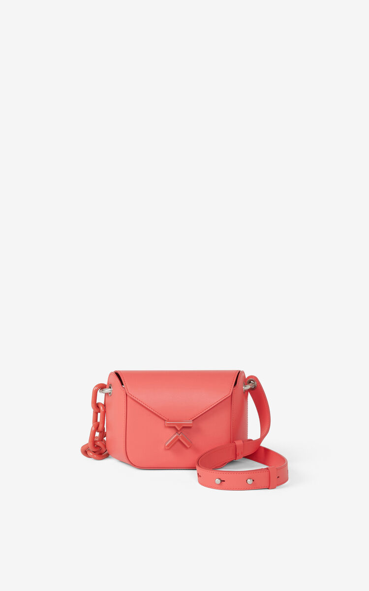 PEACH KENZO K small leather bag for unisex