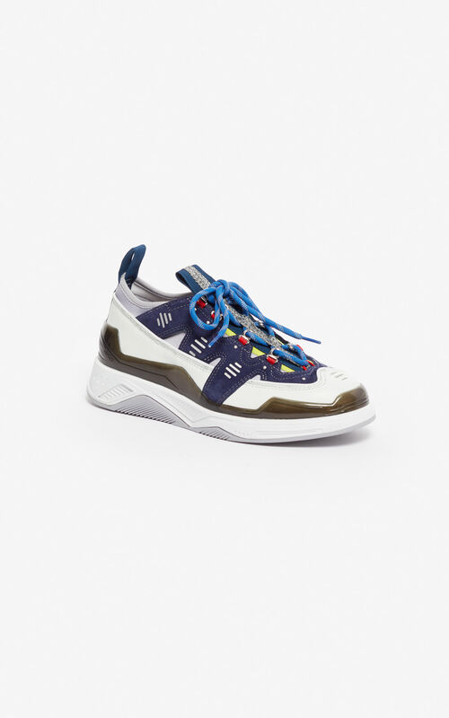 84cc072362bc women s shoes. MIDNIGHT BLUE Klimb sneakers for unisex KENZO MIDNIGHT BLUE  Klimb sneakers for unisex KENZO