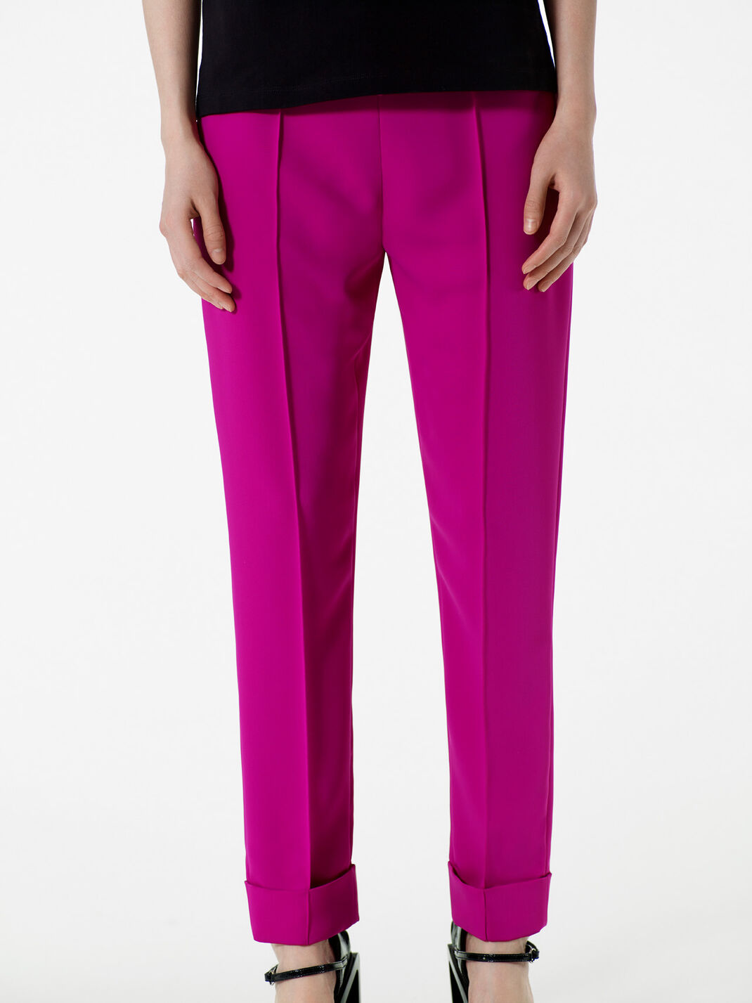 DEEP FUSCHIA Soft Crepe Pants for women KENZO