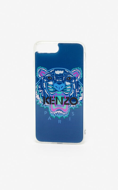 DEEP SEA BLUE iPhone 8 Tiger case for unisex KENZO