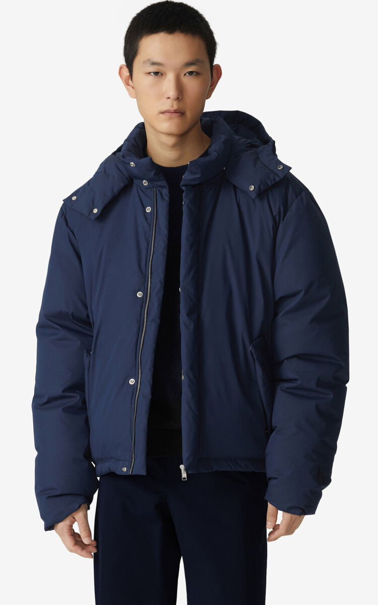 NAVY BLUE Parka for men KENZO