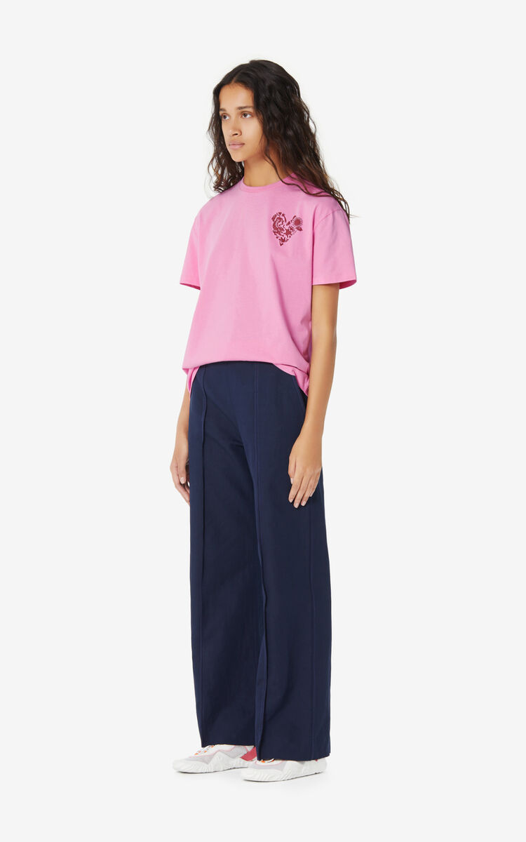 ROSE 'Lucky Star' T-shirt for women KENZO