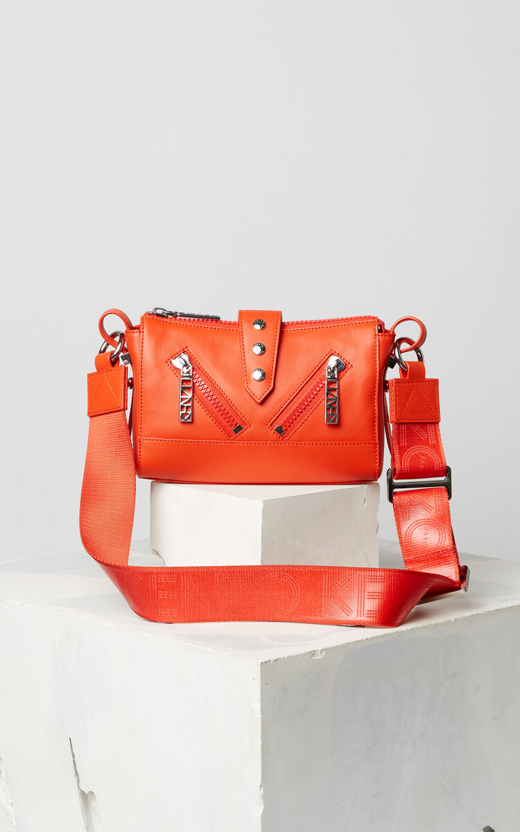 MEDIUM RED Mini Kalifornia Sport bag for women KENZO