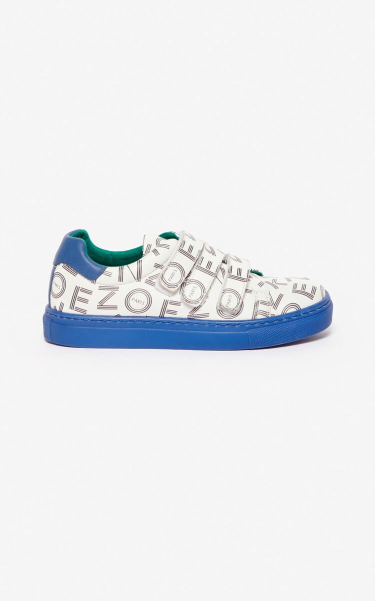 WHITE 'Japanese Dragon' sneakers for women KENZO