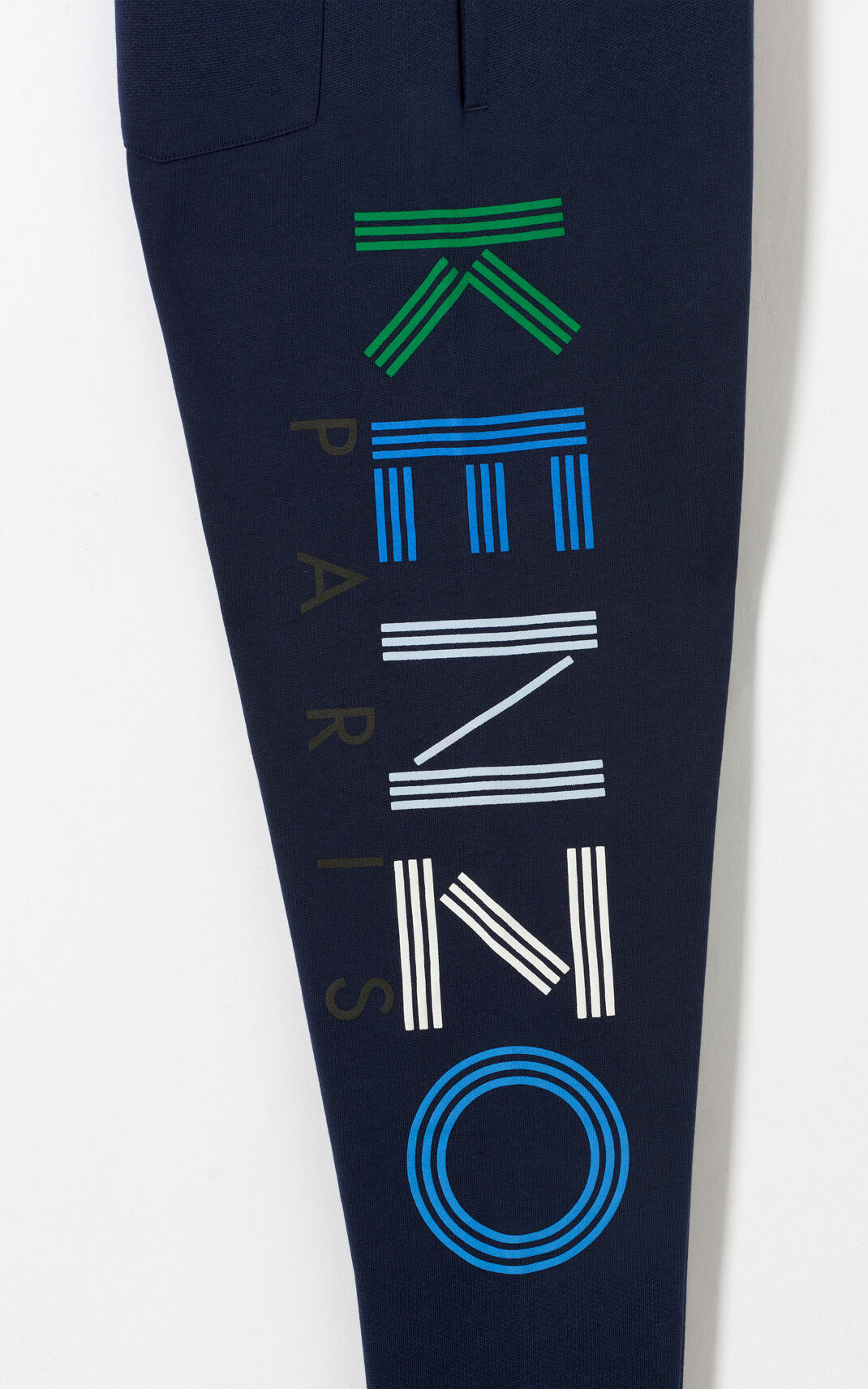 INK Multicolor Joggers with KENZO Logo for men